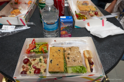 Boxed lunch served at WordCamp Montreal 2015